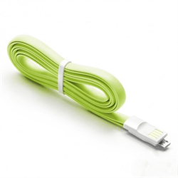 Micro USB cable (green) - фото 8102